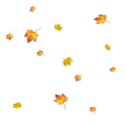 Картинки осеннего листопада анимация