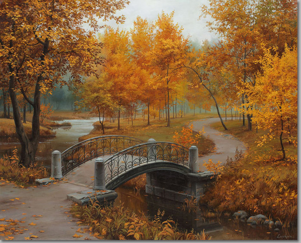 autumn in the old park