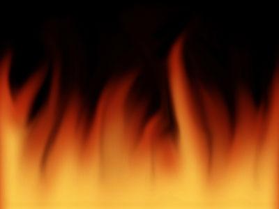 как сделать огонь в фотошопе, эффект огня в фотошопе, анимация огня