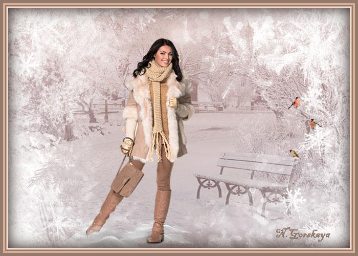 красивые зимние открытки