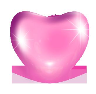 сердечки на прозрачном фоне