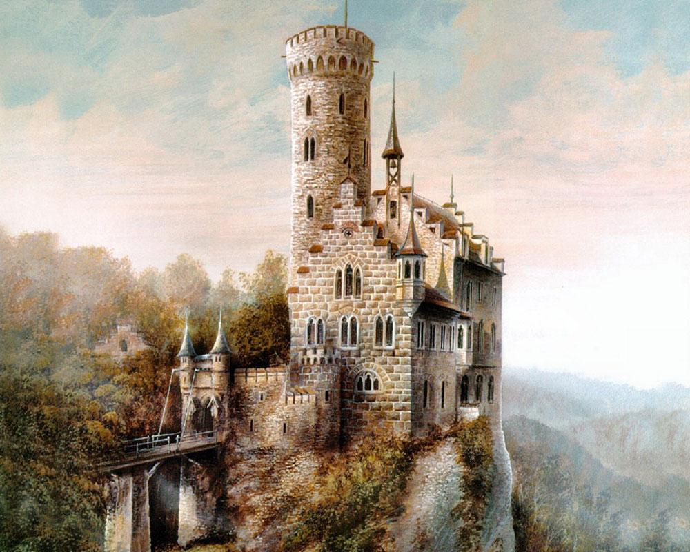 картинка с замком