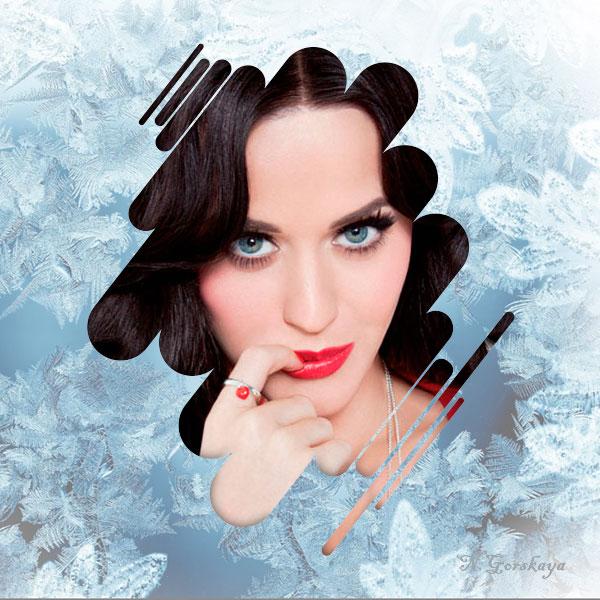 Оригинальный аватар с морозным фоном