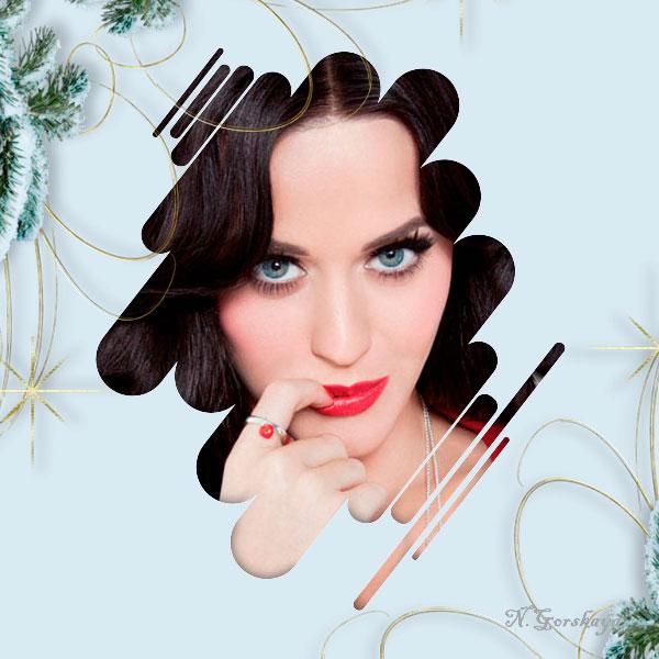 Оригинальный аватар с новогодним декором